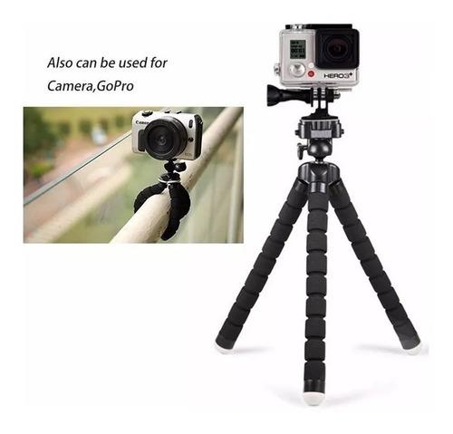 suporte celular smartphone flexível tripé gravar vídeo free