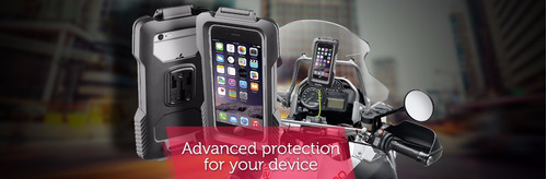 suporte celular smartphone iphone 5 5s interphone para moto