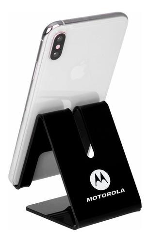 suporte celular smartphone personalizado gravado motorola