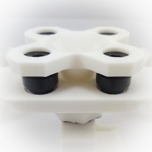suporte câmera mapir - dji phantom 3 pro (com anti-vibração)