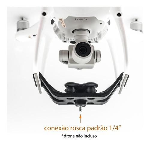 suporte câmeras leves/ 360 anti-vibra dji phantom 3 standard