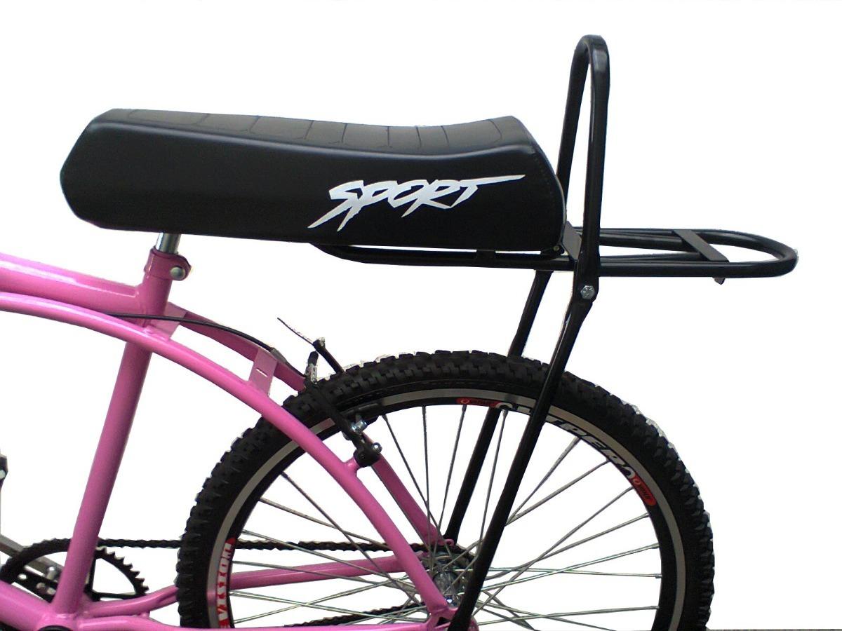 Suporte Com Bagageiro Para Adaptar Em Bicicleta R 62 99 Em