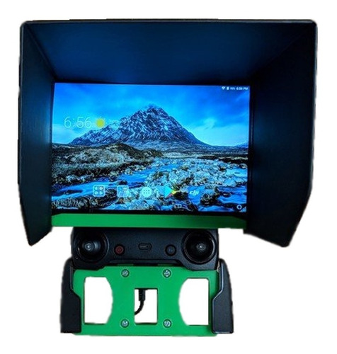 suporte controle dji spark mavic pro para ipad air tablet