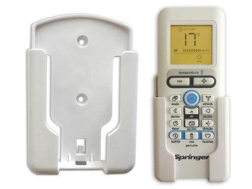 suporte controle remoto ar condicionado springer midea d