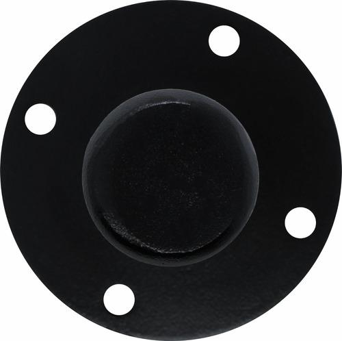 suporte copo chapeu para pedestal de caixa de som aluminio