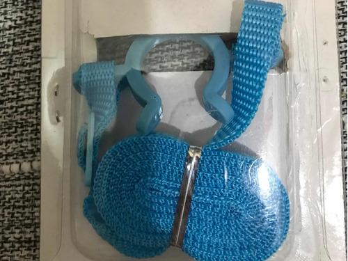 suporte cor azul  para  garrafa de água ajustável