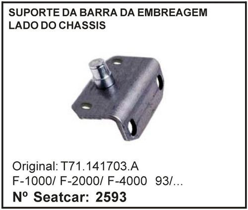 suporte da barra embreagem lado do chassis f-1000 f-2000