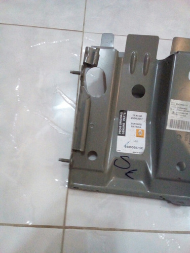 suporte da bateria renault código 648606973r original