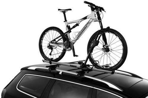 suporte de 1 bicicleta para teto thule sidearm acessorio
