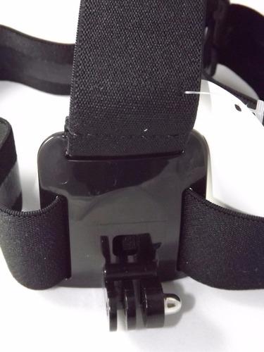 suporte de cabeça para camera gopro hero 2, 3, 4, 5, 6