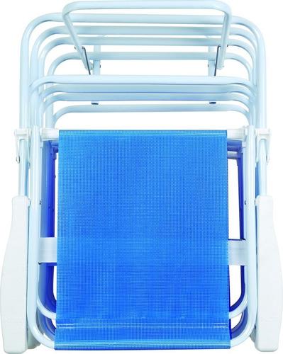 suporte de cadeira praia dobrável mor - ref 2494