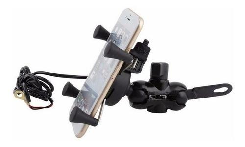 suporte de celular com carregador usb spencer 6 pol com nota