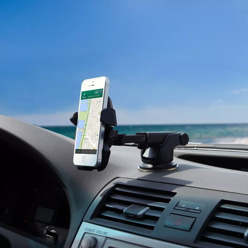 suporte de celular para carro gps ventosa gruda painel top