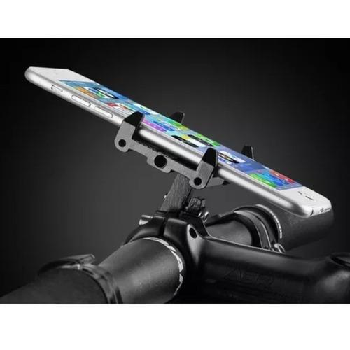 suporte de celular rockbros bike guidão alumínio universal