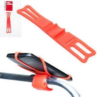 suporte de celular silicone bike absolute vermelho.