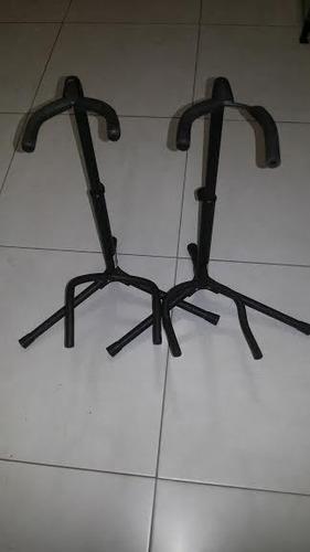 suporte de chão para violão / guitarra / baixo (unidade)