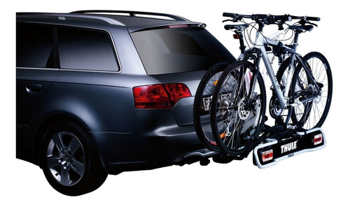suporte de engate para 2 bicicletas thule euroride 941