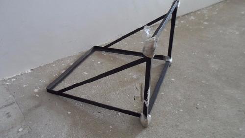 suporte de ferro para ar cond. de janela ou parede (novo)