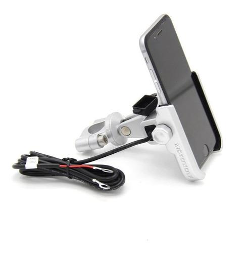 suporte de guidão smartphone celular p/ bmw g310gs g310r g310 gs310 gs 310 r gs todos os anos - usb