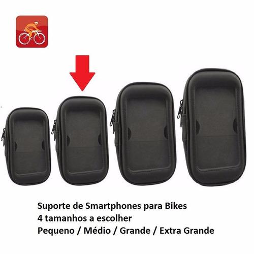 suporte de guidão smartphone médio (abraçadeira 1326)