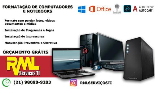 suporte de informática em geral e rede de computadores