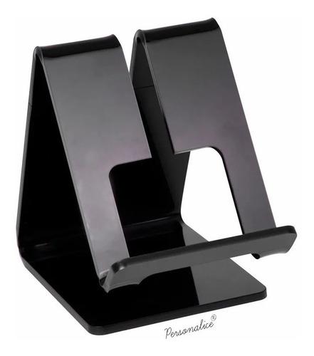 suporte de mesa expositor vitrine para celular 7 polegadas