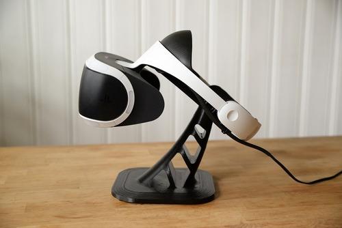 suporte de oculos vr ps4  psvr + suporte move + sup aim