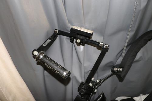 suporte de ombro filmadora e dslr ac troca