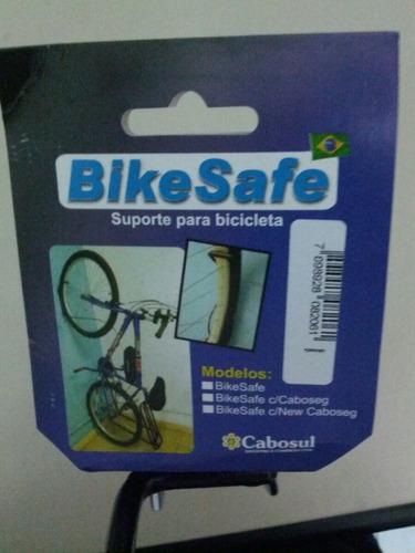 suporte de parede bike safe