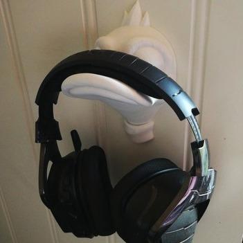 suporte de parede headphone headset - pato personalizado