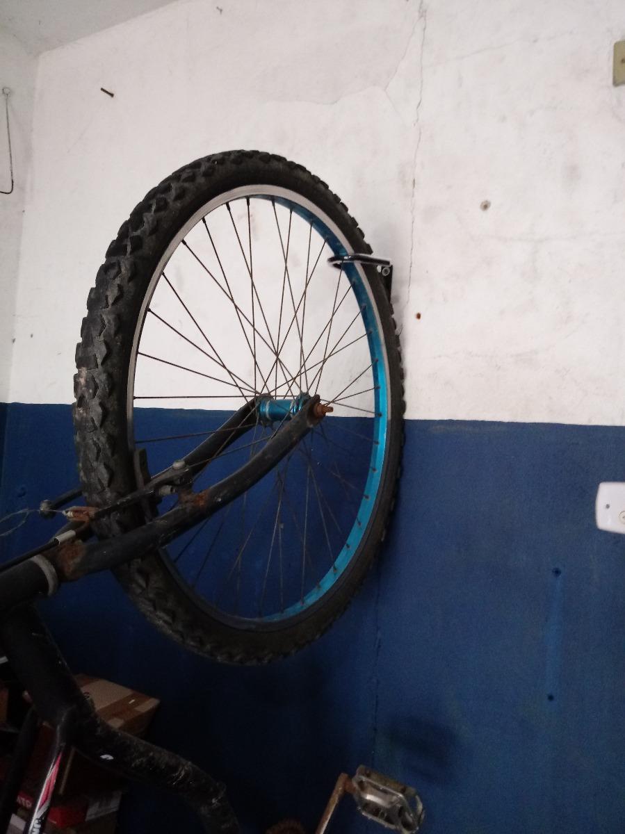 51a916323 suporte de parede p  bicicletas ( promoção ) gancho fixo. Carregando zoom.