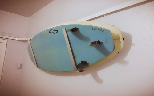 suporte de parede p/ pranchas de surf rack em alumínio