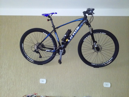 suporte de parede para bicicleta bike mtb preto