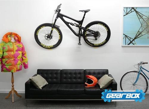 suporte de parede para bike mtb ou speed tipo 3v bike fix