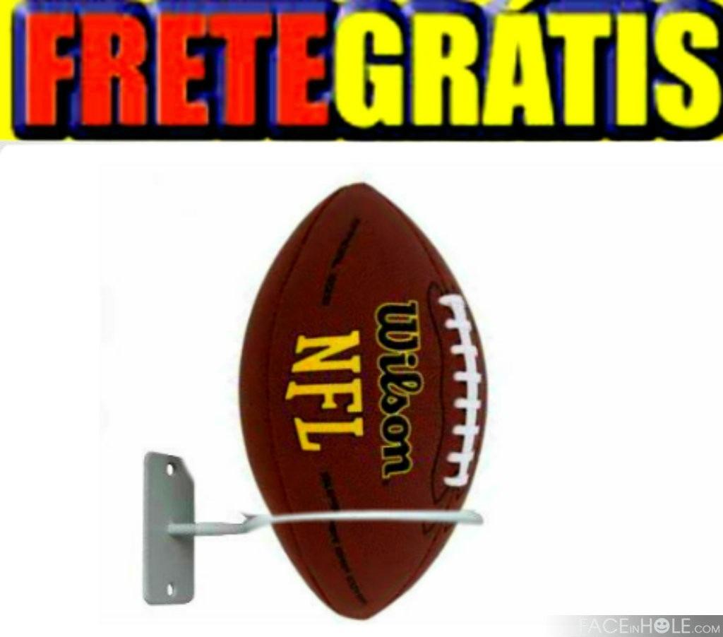 Suporte De Parede Para Bolas Futebol basquete Volei Kit 4 Pc - R  83 ... f0a0d4275aeed