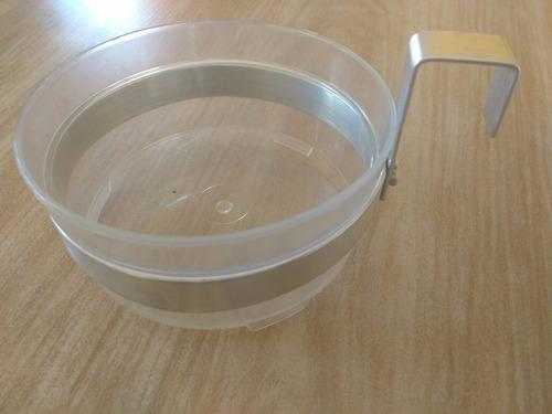 suporte de parede para vaso auto irrigável (hidro green)