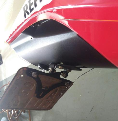 suporte de placa articulado cbr1000rr cbr1000 cbr fireblade