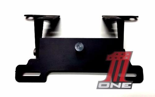 suporte de placa com luz moto hayabusa gsx 1300 r ano 2010