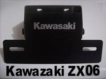 suporte de placa eliminador de rabeta kawasaki zx10 08 a 10