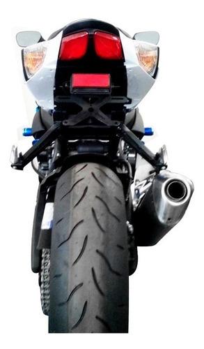 suporte de placa suzuki srad 750 2010/2013