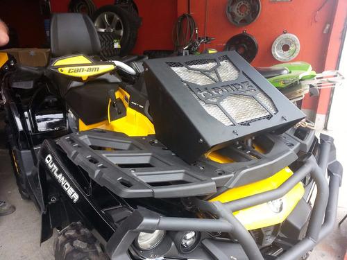suporte de radiador can-am outlander 650 / 800 / 1000 2013 +