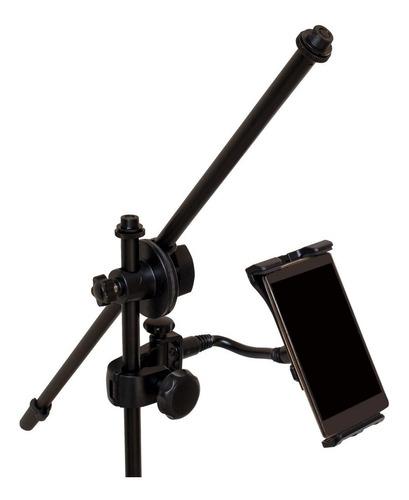 suporte de tablet celular de 3.5 a 10.1pol. p/ pedestal mic