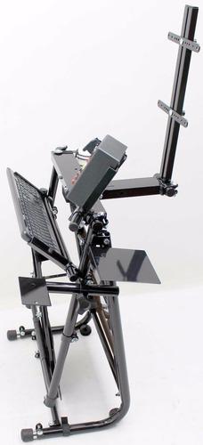 suporte de teclado e mouse para cockpit ou suporte águia