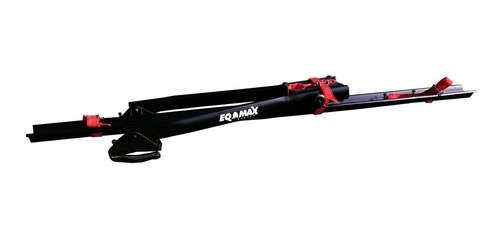 suporte de teto bicicleta calha transbike eqmax velox 1 bike