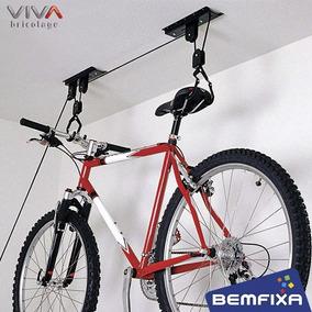 46caed358 Suporte Bicicleta Teto - Acessórios para Bicicletas no Mercado Livre Brasil