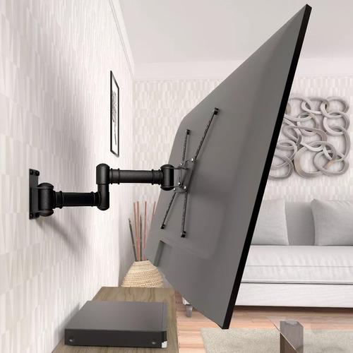 suporte de tv articulado lg samsung 20 26 32 40 49 55 stpa50