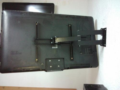 suporte de tv tri-articulado lcd led plasma 3d 26 a 52 pol