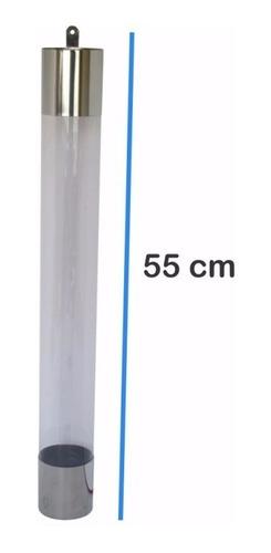 suporte dispenser de copos de café 50ml cristal inox