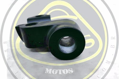 suporte do espelho retrovisor lado esquerdo dafra next 250 300 original sym 70205-g40-000 com nota