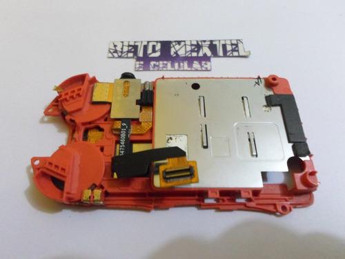 suporte do sim com conector do fone nextel i877